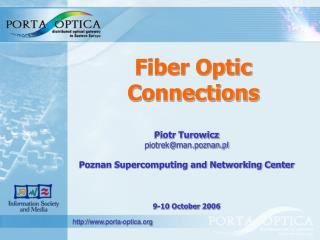 Fiber Optic Connections