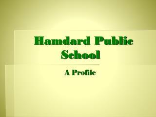 Hamdard Public             School