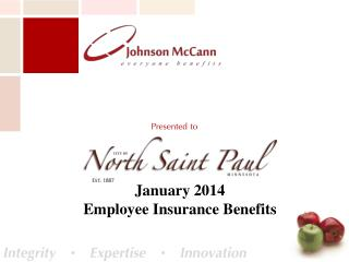 January 2014  Employee Insurance Benefits
