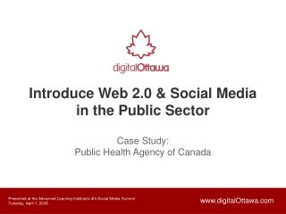 Introduce Web 2.0 & Social Media in the Public Sector