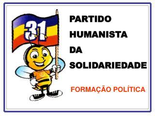 PARTIDO HUMANISTA  DA  SOLIDARIEDADE