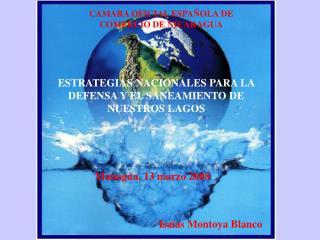 ESTRATEGIAS NACIONALES PARA LA DEFENSA Y EL SANEAMIENTO DE NUESTROS LAGOS