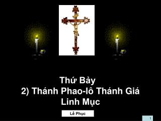 Th? B?y 2) Th�nh Phao-l� Th�nh Gi� Linh M?c