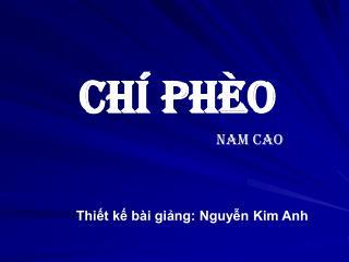 Ch� Ph�o