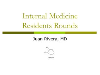 Internal Medicine Residents Rounds