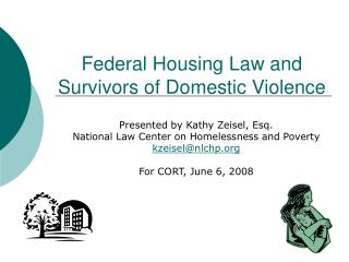 Federal Housing Law and Survivors of Domestic Violence