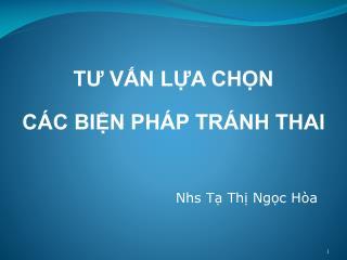 Nhs Tạ Thị Ngọc Hòa