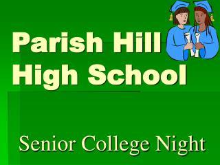 Parish Hill  High School