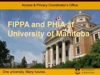 The University of Manitoba