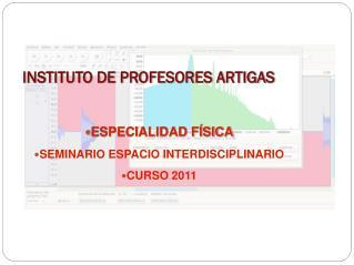 INSTITUTO DE PROFESORES ARTIGAS