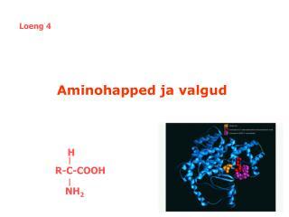 Aminohapped ja valgud