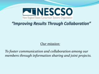 """Improving Results Through Collaboration"""