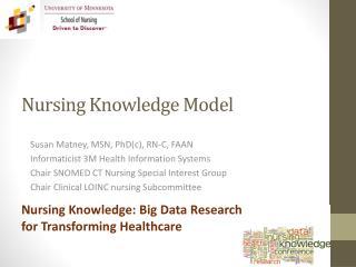 Nursing Knowledge Model