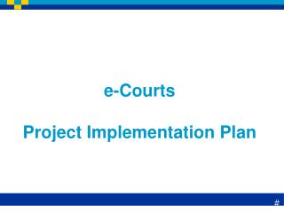 e-Courts Project Implementation Plan
