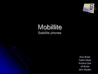 Mobillite Satellite phones