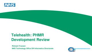 Telehealth: PHMR Development Review