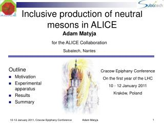 Inclusive production of neutral mesons in ALICE
