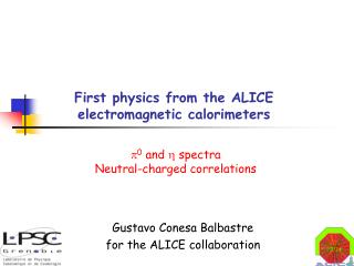 First physics from the ALICE electromagnetic calorimeters