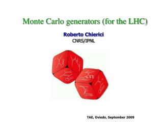 Roberto Chierici CNRS/IPNL
