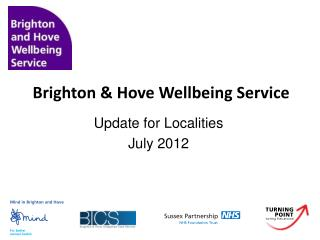Brighton & Hove Wellbeing Service