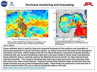 Hurricane monitoring and forecasting