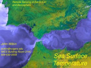Remote Sensing of the Ocean and Atmosphere: