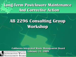 California Integrated Waste Management Board February 11, 2009
