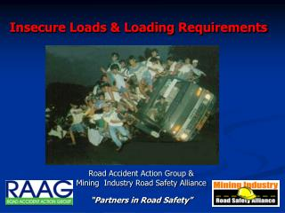 Insecure Loads & Loading Requirements