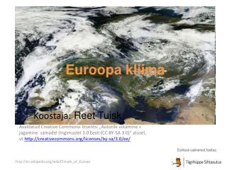 Euroopa kliima