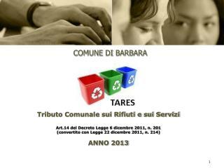 COMUNE  DI  BARBARA