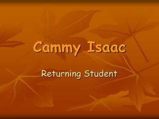 Cammy Isaac