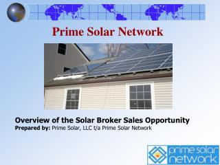 Prime Solar Network
