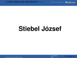 Stiebel József