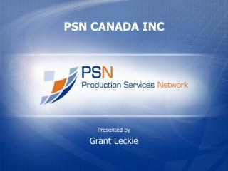 PSN CANADA INC