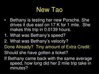 New Tao