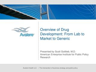 Overview of Drug Development: From Lab to Market to Generic
