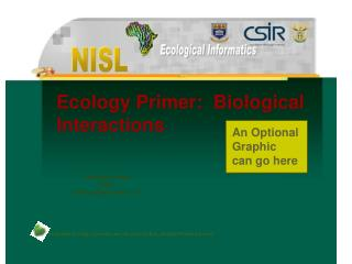 Ecology Primer:  Biological Interactions