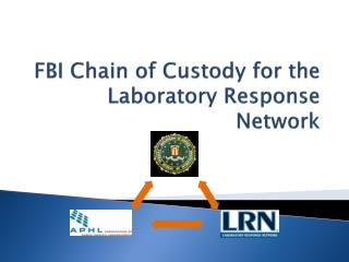 FBI Chain of Custody for the Laboratory Response Network