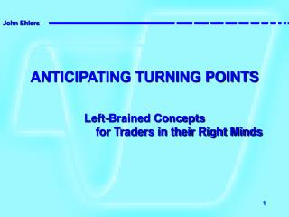 This Webinar is an excerpt from my Runner Up Paper for the 2008 MTA Charles H. Dow Award