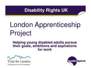 London Apprenticeship Project