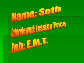 Name: Seth