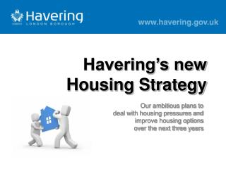 Havering�s new Housing Strategy