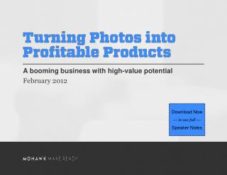 A booming business with high-value potential February 2012