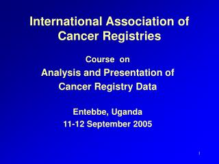 International Association of Cancer Registries
