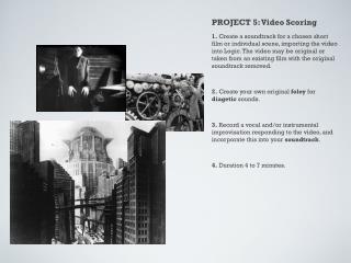 PROJECT 5: Video Scoring
