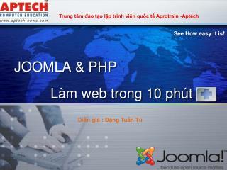 JOOMLA & PHP