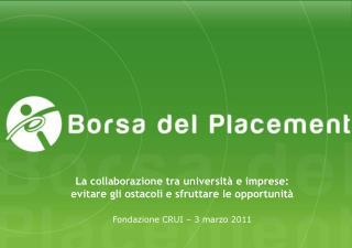 Fondazione CRUI – 3 marzo 2011