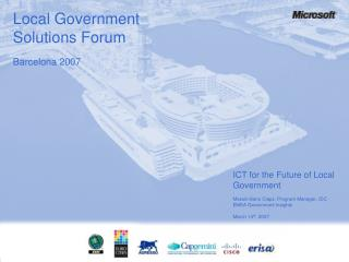 ICT for the Future of Local Government