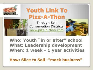Youth Link To  Pizz -A-Thon