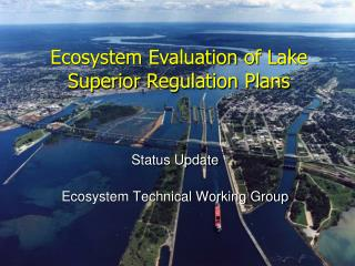 Status Update Ecosystem Technical Working Group